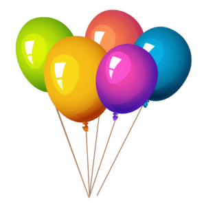 Balloon with Helium | 7 pcs.