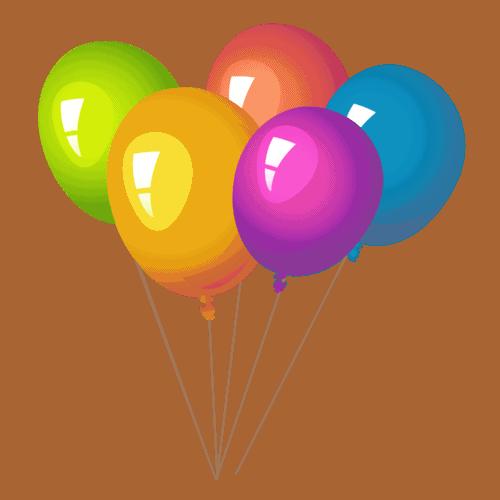 Балон с хелий | 7 бр.