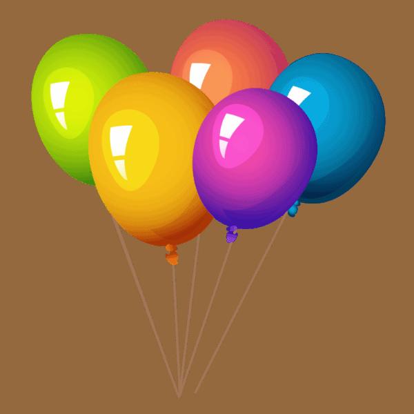 Балон с хелий | 3 бр.