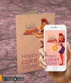 iGreet - Cake & Wine Day