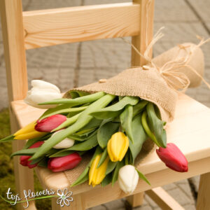 Bouquet of 11 Tulips | Multicolored