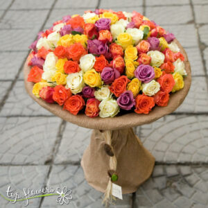 Bouquet 101 Roses mix