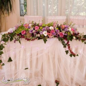 Аранжировка за маса | Акалифа | Младоженска