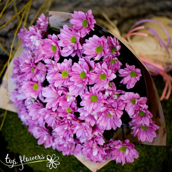 Bouquet of Chrysanthemums | Pink