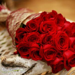 Classic bouquet of 11 Red Roses