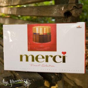 Кутия бонбони Merci | 400 гр.