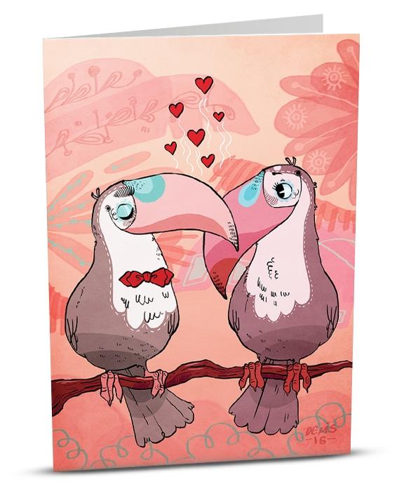 iGreet - Lovebirds