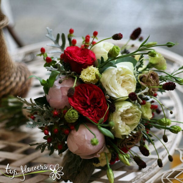 Bridal Bouquet | Piano Peony