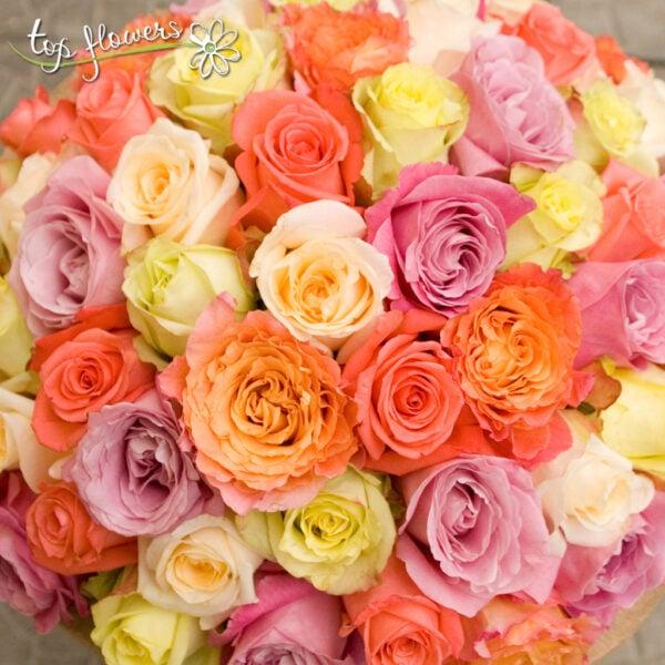 Bouquet 51 Roses mix