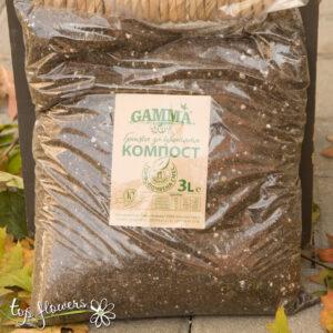 Soil 3 l. Gamma/compost/torfopočvena mixture