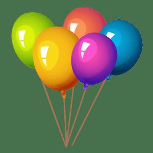 Балон с хелий | 5 бр.