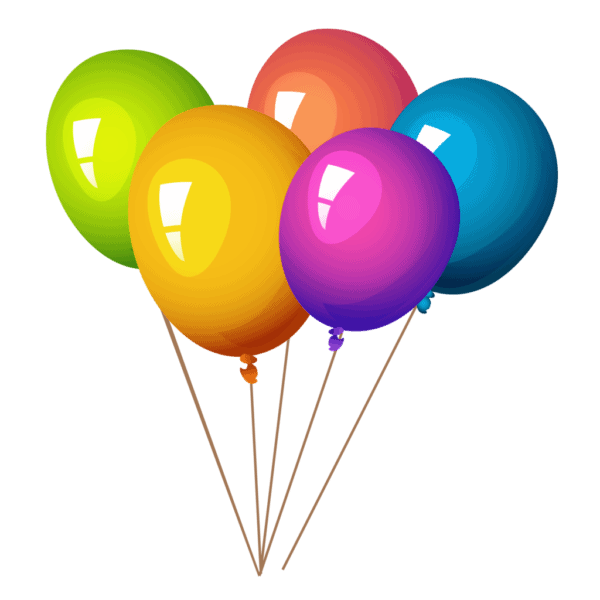 Балон с хелий   5 бр.