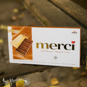 Block chocolates Merci | 112 gr.