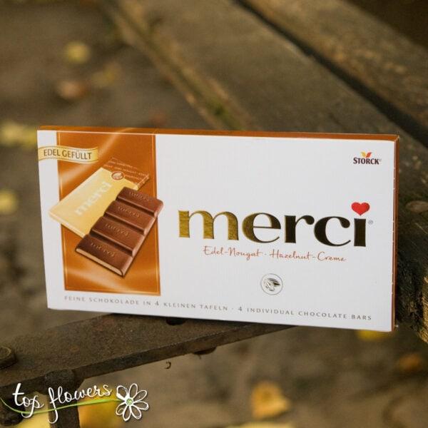 Block chocolates Merci | 112 gr.