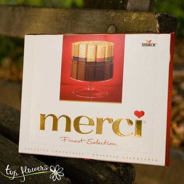 Box of chocolates Merci small box of chocolates | 250 gr.