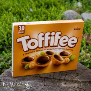 Кутия бонбони Toffifee голяма бонбониера