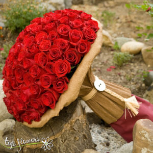 Bouquet 101 Fine red roses