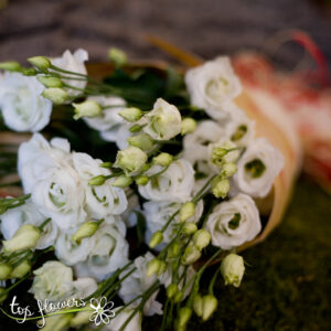 Bouquet of Lisianthus | White