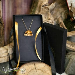 """Necklace """"Orchid"""" 