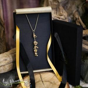 "Necklace ""Lavender"" | GOLD"